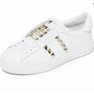 Ash Party Gold Studded Sneakers size 10